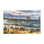 Battle of Nassau, Canvas Art Print Stretched Canvas Prints
