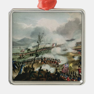 Battle of Nivelle,engraved by Thomas Christmas Ornament