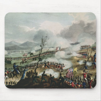 Battle of Nivelle,engraved by Thomas Mouse Pad
