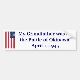 Battle of Okinawa Bumper Sticker