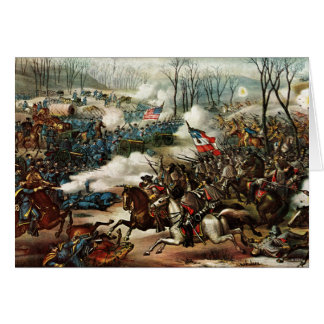 Battle of Pea Ridge Card