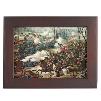Battle of Pea Ridge Memory Box