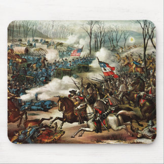 Battle of Pea Ridge Mouse Mat