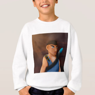 Battle of pencil sweatshirt