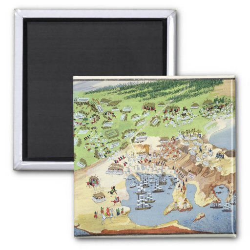 Battle of Piraeus, from the Pictorial History of t Fridge Magnets