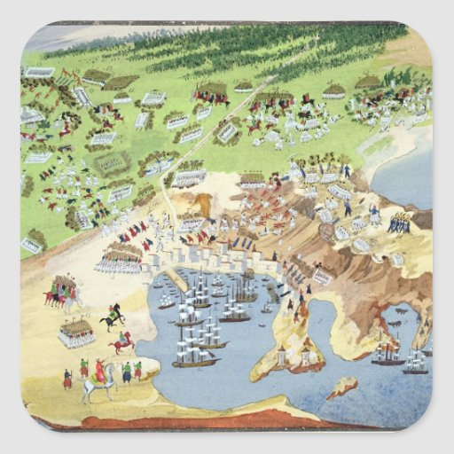 Battle of Piraeus, from the Pictorial History of t Stickers