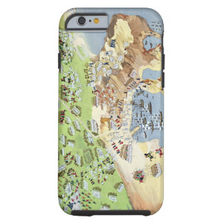 Battle of Piraeus, from the Pictorial History of t Tough iPhone 6 Case
