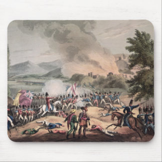Battle of Pombal, engraved by Thomas Sutherland Mouse Pad