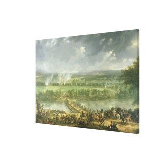 Battle of Pont d'Arcole Canvas Print