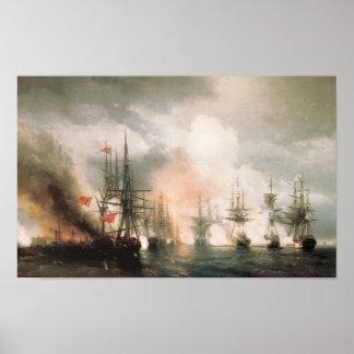 Battle of Sinop Daytime Print