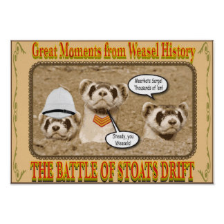 Battle of Stoats Drift Poster