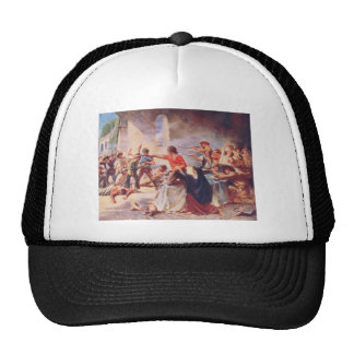 Battle of the Alamo by Percy Moran Hats