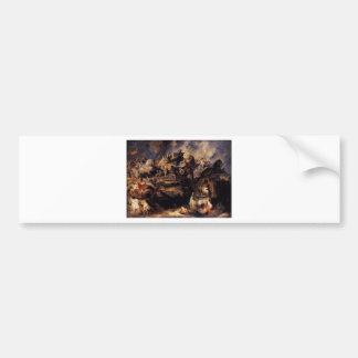 Battle of the Amazons by Peter Paul Rubens Bumper Sticker