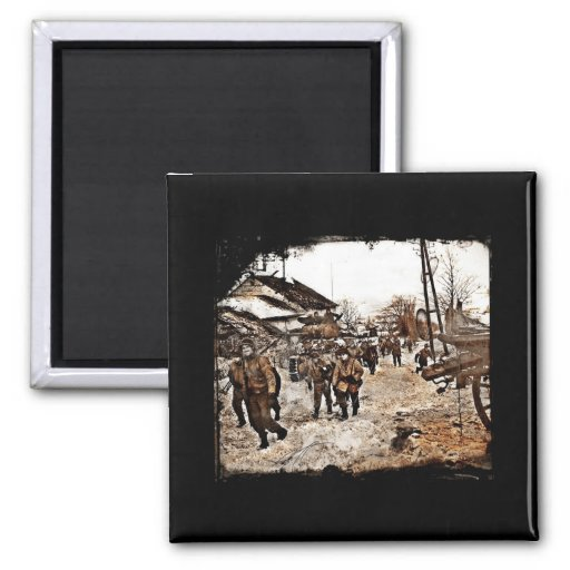 Battle of the Bulge Recon Refrigerator Magnet