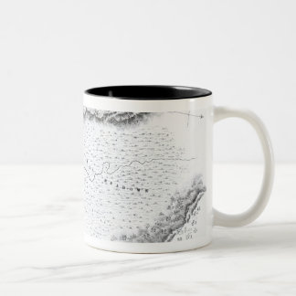 Battle of the Great Meadows, July 3rd 1754 Two-Tone Coffee Mug