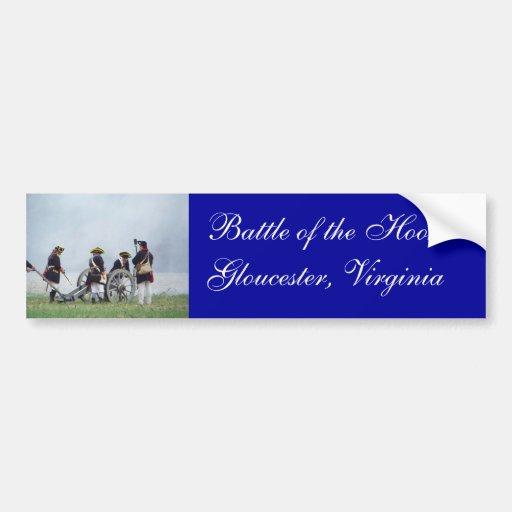 Battle of the Hook Bumper Sticker