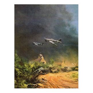 Battle of the liberation of France Postcard