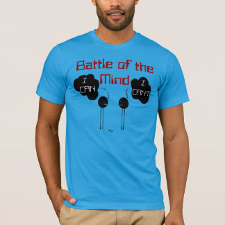 """Battle of the Mind"" by Michael Crozz T-Shirt"