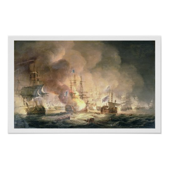 Battle of the Nile, 1st August 1798 at