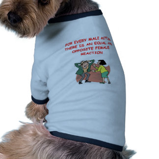 battle of the sexes dog clothes