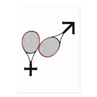 Battle of the Sexes Tennis Business Cards