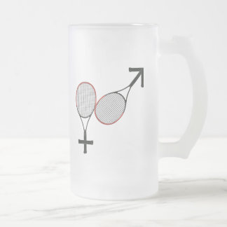 Battle of the Sexes Tennis Mug