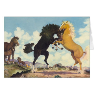Battle Of The Stallions Card