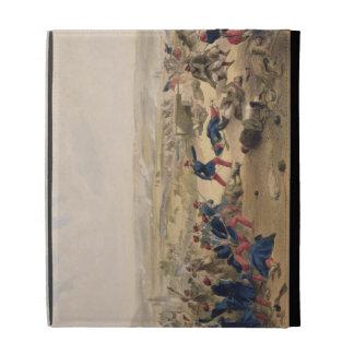 Battle of the Tchernaya, August 16th 1855, plate f iPad Folio Case