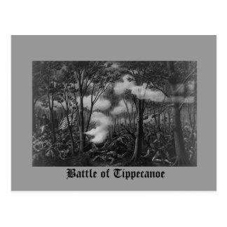 Battle of Tippecanoe Postcard