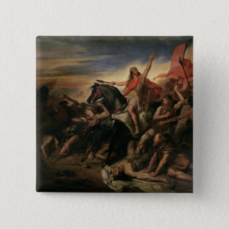 Battle of Tolbiac in AD 496, 1837 15 Cm Square Badge
