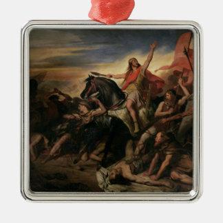 Battle of Tolbiac in AD 496, 1837 Christmas Ornament