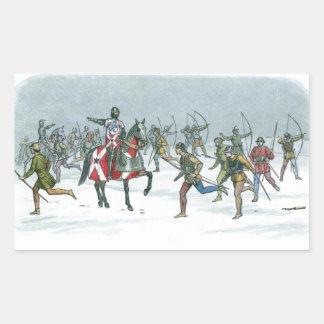 Battle of Towton 1461 Rectangular Stickers