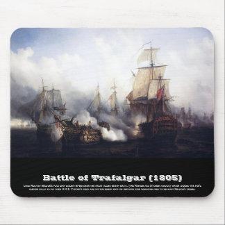 Battle of Trafalgar at noontide Mouse Pads