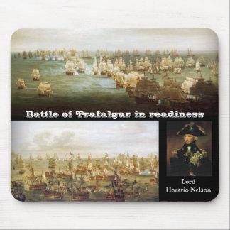 Battle of Trafalgar in readiness (2) Mouse Mat