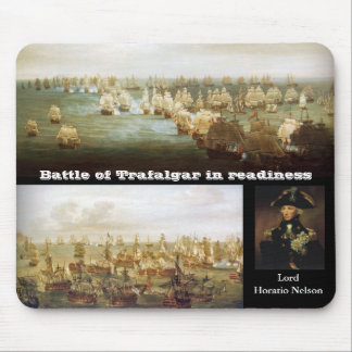 Battle of Trafalgar in readiness 2 Mouse Pads