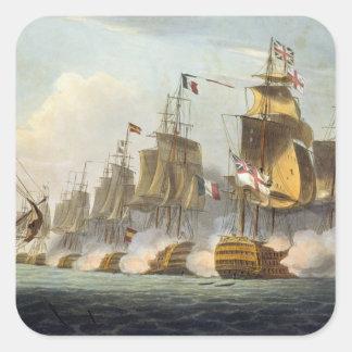Battle of Trafalgar, October 21st 1805, from 'The Square Sticker