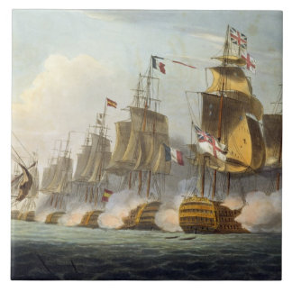 Battle of Trafalgar, October 21st 1805, from 'The Tile