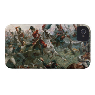 Battle of Waterloo, 18th June 1815, 1898 (colour l iPhone 4 Case-Mate Cases