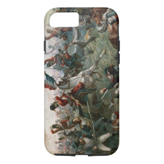 Battle of Waterloo, 18th June 1815, 1898 (colour l iPhone 8/7 Case