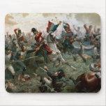 Battle of Waterloo, 18th June 1815, 1898 (colour l Mouse Pad