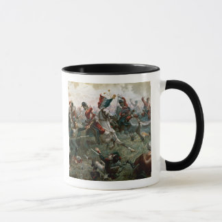 Battle of Waterloo, 18th June 1815, 1898 (colour l Mug