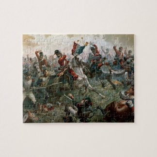 Battle of Waterloo, 18th June 1815, 1898 (colour l Puzzle