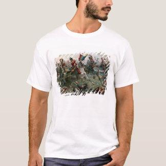 Battle of Waterloo, 18th June 1815, 1898 (colour l T-Shirt