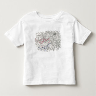 Battle of Waterloo, 18th June 1815, Sheet 1st (eng Toddler T-Shirt
