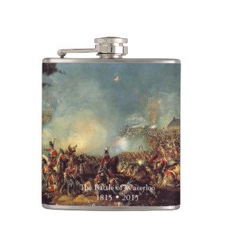 Battle of Waterloo by William Sadler Flasks