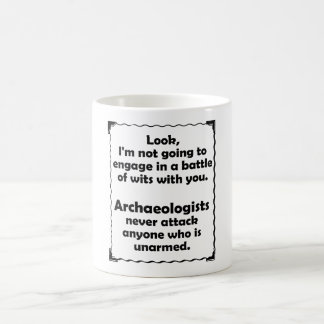 Battle of Wits Archaeologists Mugs