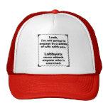 Battle of Wits Lobbyist Cap