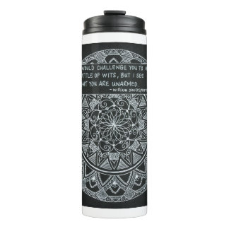 Battle of Wits Thermal Tumbler