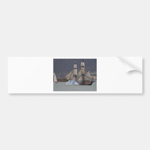 battle-reenactment-at-the-san-deigo-maritime-museu bumper sticker