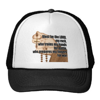 Battle Rosary with sleeve 1 Mesh Hats